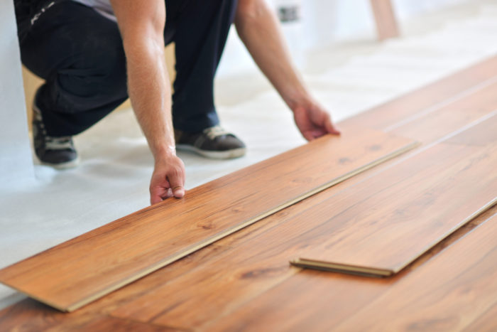 Flooring services at Galveston Remodeling